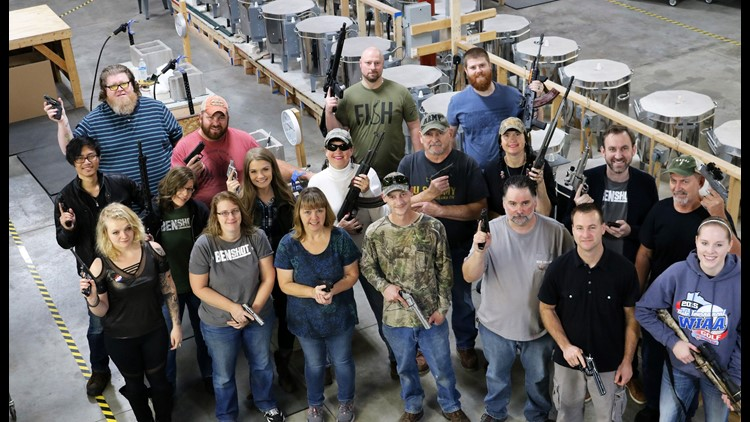 A handgun for Christmas: Wisconsin company decides to buy firearms for every employee this holiday season