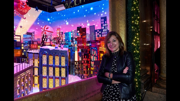 Macys Christmas Windows Roya Sullivan By Kent Miller 3