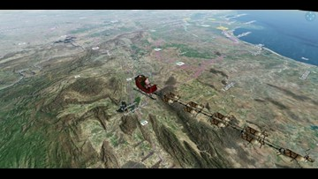 Will NORAD's Santa Tracker still monitor St. Nick's journey even if there's a government shutdown?