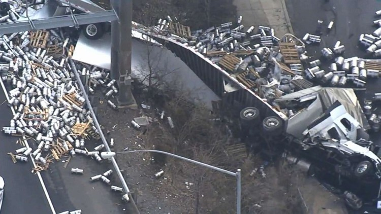 Crash Involving Tractor-Trailer Causing Delays On I-95
