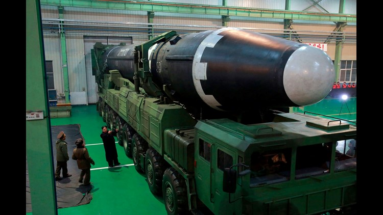 North Korea appears to be building one or two ICBMs