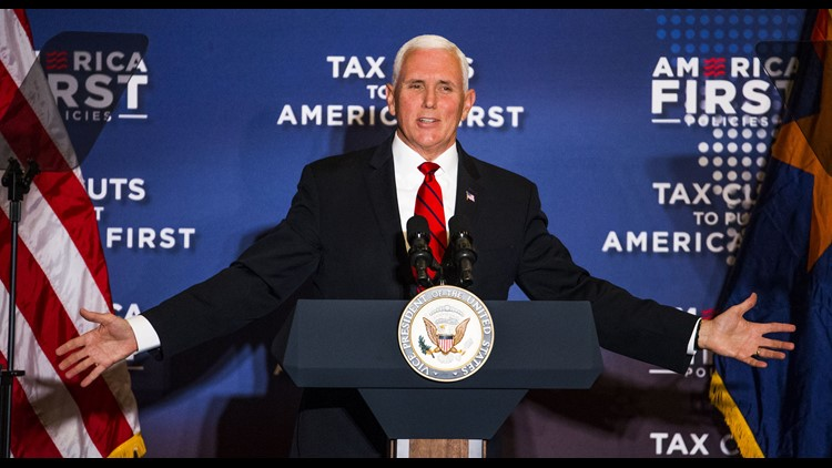 Mike Pence visits Phoenix on tax policy tour