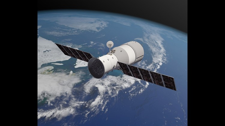 China space lab may fall to Earth on Monday: European Space Agency