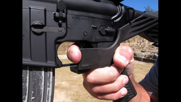 Abilene area bump stocks inventor, manufacturer to halt orders, shut down website