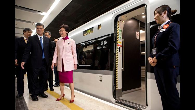 Ap Hong Kong China Bullet Train I Hkg