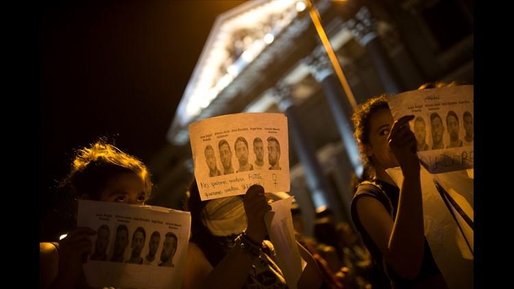 Women's groups upset over sexual assault sentences in Spain