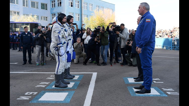 Epa Kazakhstan Russia Space Mission Sci Space Programmes Kaz