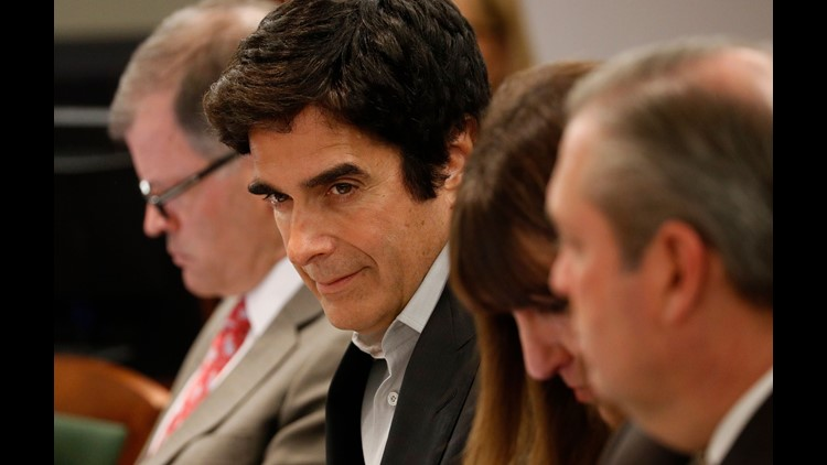 Lawsuit leads to revelations about David Copperfield's act | wusa9 com