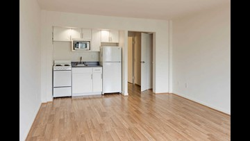 The lowest priced apartment rentals in Downtown, Washington