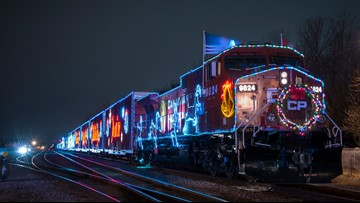 Canadian Pacific Holiday Train lights up Canada and U.S. with holiday cheer
