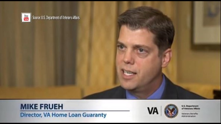 Mike Frueh was VA's Director of Home Loan Guaranty in 2014.
