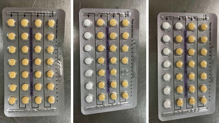 Recalled birth control