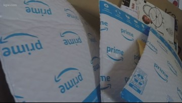 Amazon investigating mysterious package deliveries that have Oregon roommates spooked