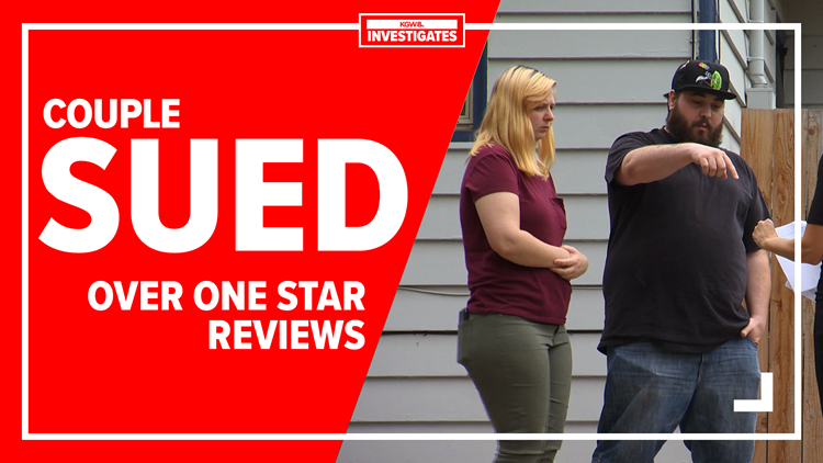 Couple sued for $112,000 after leaving one-star reviews