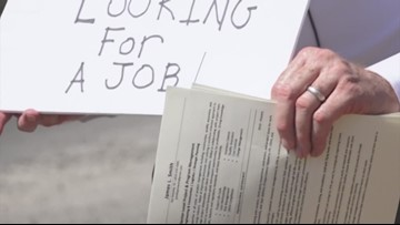 Man gets job offer after standing in an intersection handing out resumes