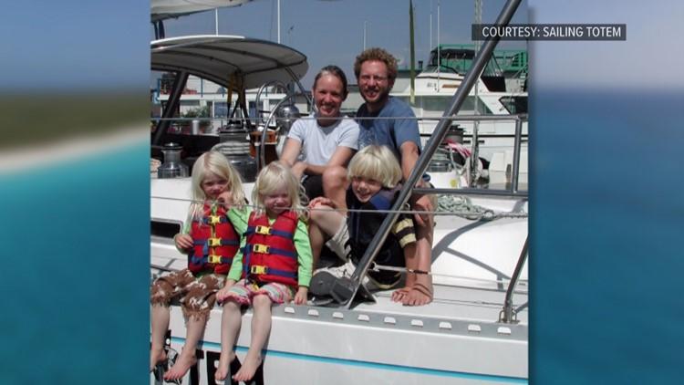 Bainbridge Island family gave up home to sail the globe