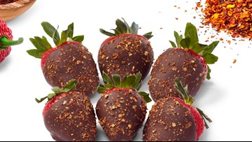 Spice it up! Edible Arrangements debuts ghost pepper chocolate strawberries