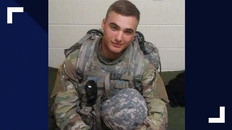 Army Specialist Jackson Johnson