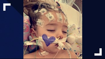Little girl dies after complications from flu