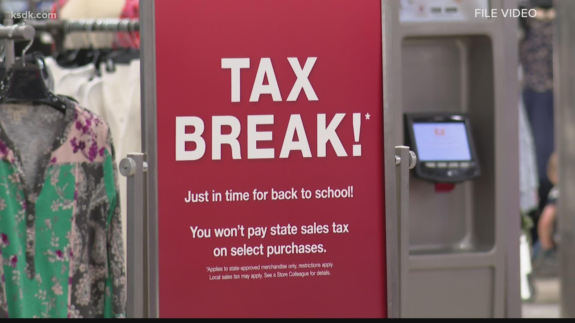 Missouri Tax Free Weekend Malls Extending Hours Wusa9 Com