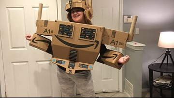 Amazon makes 'Prime' costume come to life for girl with autism