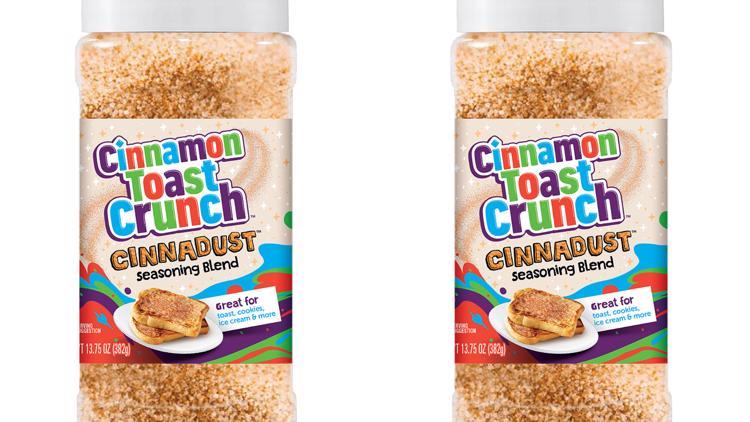 Cinnamon Toast Crunch launches 'Cinnadust' seasoning blend