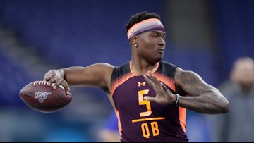 Maryland native reflects on NFL dream to come true | Dwayne Haskins: It's all about faith, family, football
