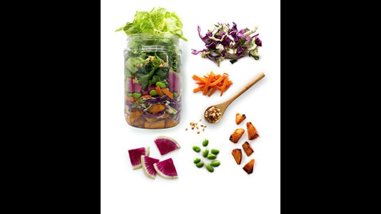 The Farmer's Fridge Asian chopped salad. (Photo courtesy of Farmer's Fridge)