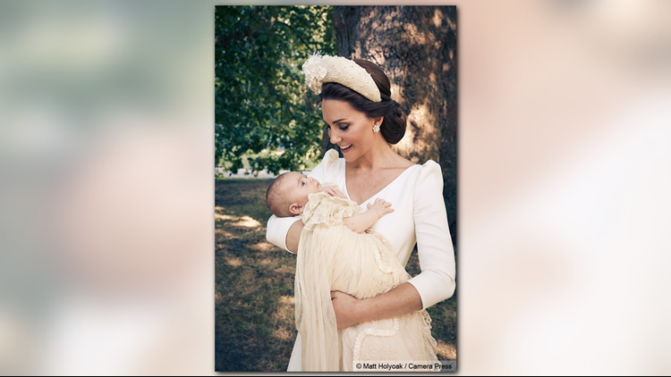 Young Prince Louis and his mother Kate, the Duchess of Cambridge. (Photo: Matt Holyoak, Camera Press)
