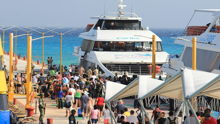 The U.S. Embassy in Mexico prohibits government employees from traveling to Playa del Carmen.