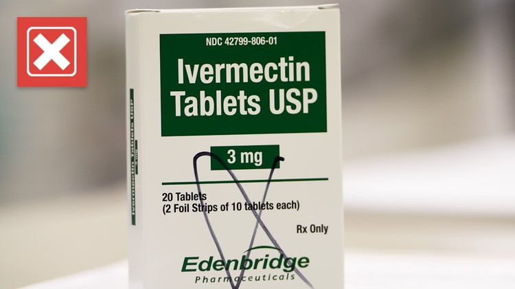 The FDA has only fully approved one drug for treating COVID-19, and it's not ivermectin