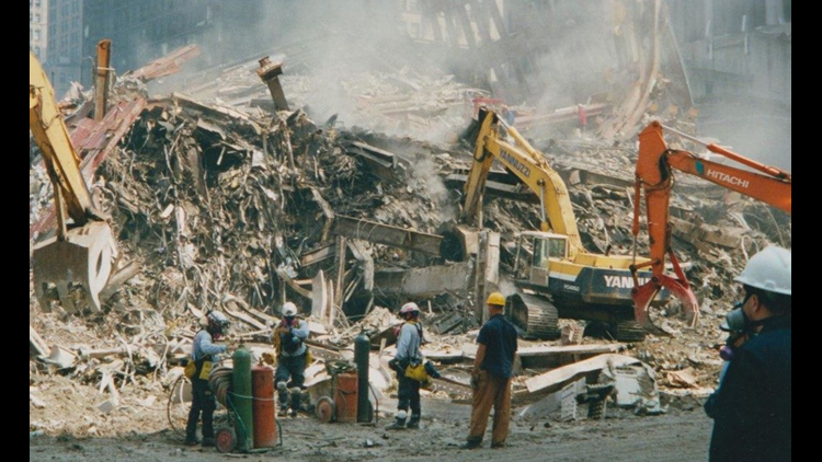 Remembering September 11, dust and debris