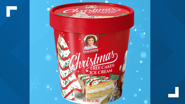 'Yes. It's real'   Little Debbie reveals Christmas Tree Cakes ice cream flavor