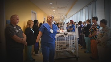 East Tennessee Children's Hospital provides powerful tribute to young organ donors with honor walk