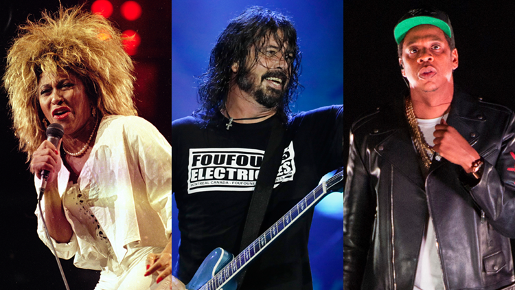 Tina Turner, Foo Fighters, Jay-Z among inductees for 2021 Rock & Roll Hall of Fame class