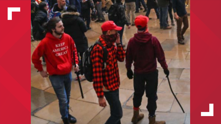 Two York Co. men identified for participation in Jan. 6 Capitol riot