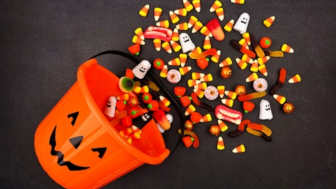 Shards of glass found in kids trick or treat bags in Purcellville