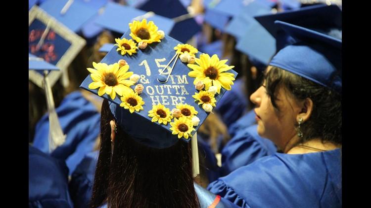 Emma's grad cap