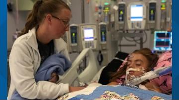 Girl, 10, fighting brain-eating amoeba at Texas hospital