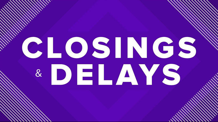 Most major school districts closed ahead of Wednesday snow event