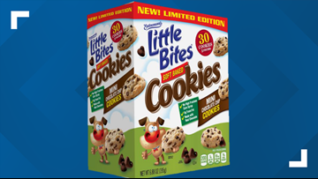 Little Bites Cookies recalled due to possible plastic pieces in the packages