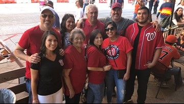 Rendon Family draws straws for World Series Tickets