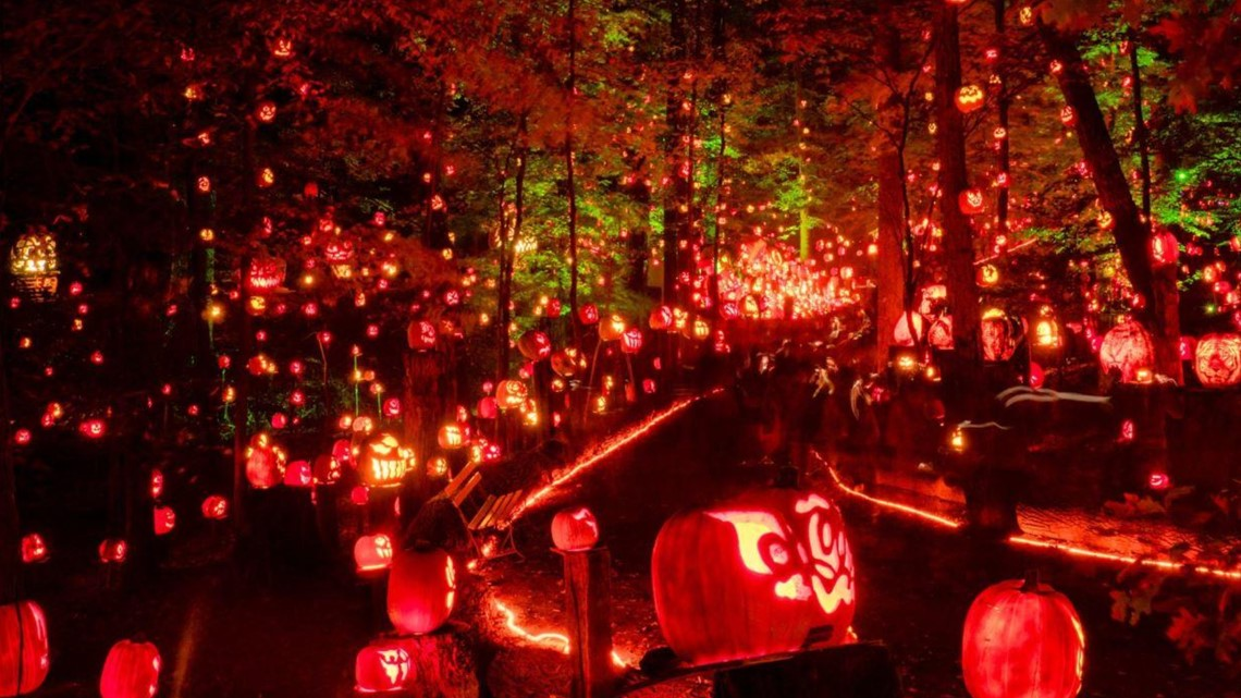 5,000 jack-o'-lanterns to light up Kentucky trail this fall