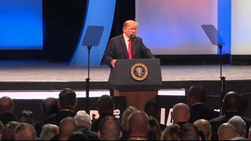 President Trump calls for return of 'stop and frisk' policy during Orlando speech