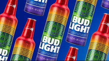 Bud Light releasing rainbow bottles to celebrate Pride Month