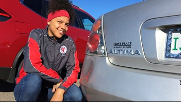 Student intentionally causes a car crash, and it may have saved a woman's life