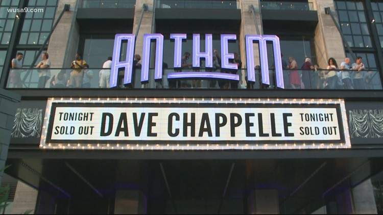 The Anthem welcomes fans back with Dave Chappelle as some businesses start requiring proof of vaccination for guests
