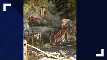 Fire forces Germantown residents out of their home