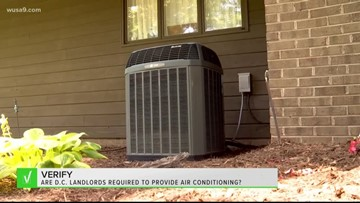 VERIFY: No, landlords in DC aren't required to provide air conditioning