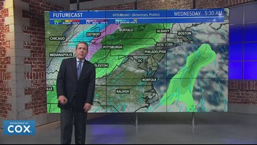 Yellow Weather Alert Friday and Saturday for rain and showers